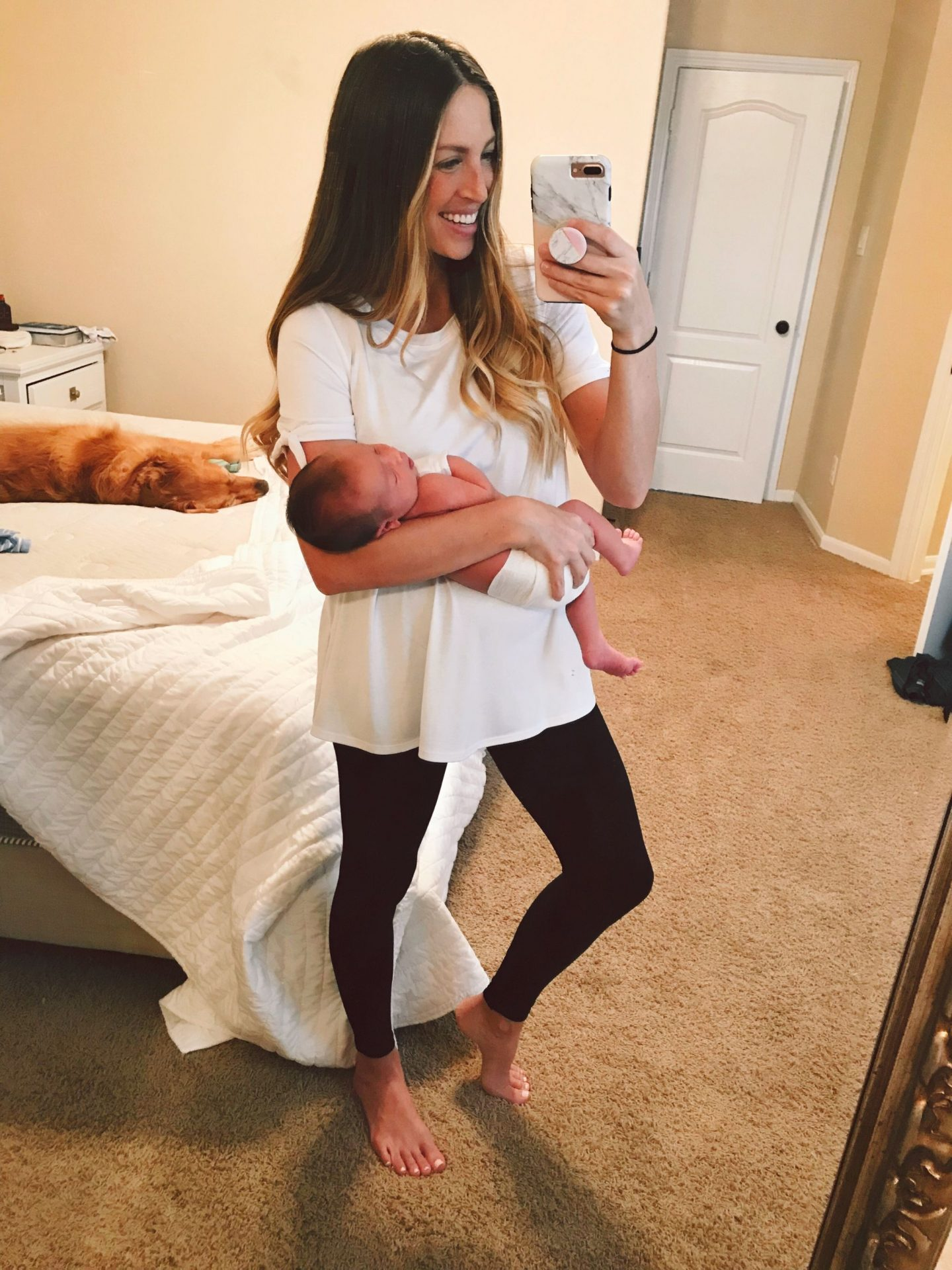 Postpartum What to wear the first few weeks after having a baby